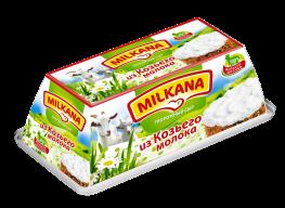 Milkana / Милкана Творожный сыр из козьего молока, 150 гр