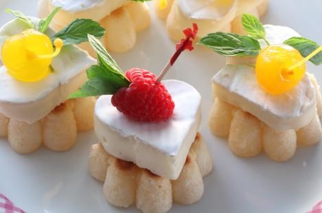 Канапе с сыром Милкана Камамбер Ле Кремье