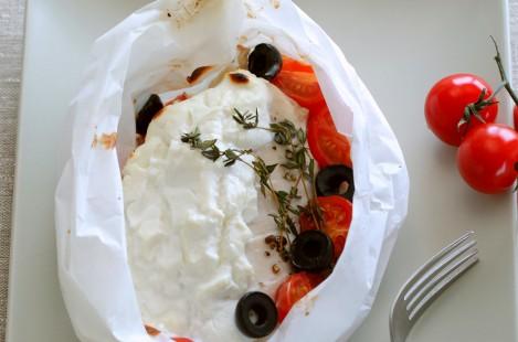 Папильотки из курицы с сыром Милкана из козьего молока