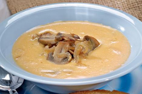 Суп из сыра Милкана Камамбер Ле Кремье с душистыми травами